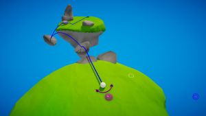 Super Galactic Golf Screenshot